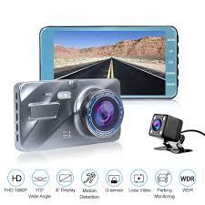 <b>HGDO</b> 4.0 Inch Car DVR HD 1080P <b>Dash Cam</b> Dual Lens Car ...