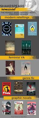 modern retellings of shakespeare for every reader shakespeare inspired novels modern retellings of shakespeare