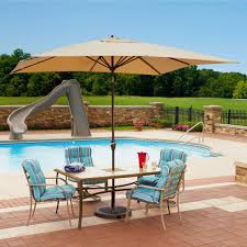 patio ft outdoor table umbrella