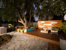 eight backyard makeovers from diys yard crashers 40 photos backyard landscape lighting