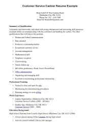 cashier skills list resume template cashier skills list resume