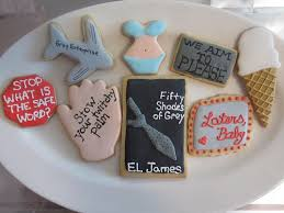 Resultado de imagen para fifty shades of grey food