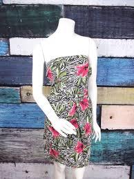 Torrid White Black <b>Zebra Floral</b> Strapless Rockabilly Pinup Dress ...
