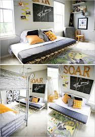 decor men bedroom decorating: bedroom decorating ideas for men orange