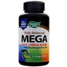 Nature's Way <b>Mega 3/6/9 Omega</b> Blend - <b>Fully Balanced</b> on sale at ...