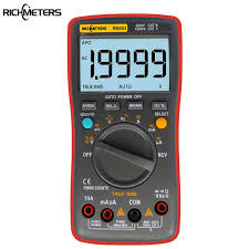 RICHMETERS <b>RM111 NCV True RMS Digital</b> Multimeter Auto ...
