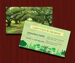 lawn care gardener business card psd business card templates psd lawn care gardener business card