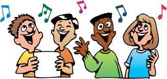 Image result for singing cartoon clip art