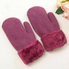 Fleece Winter <b>Gloves</b> & <b>Mittens</b> for Women for sale | eBay