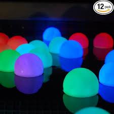 get quotations set of 12 mood light garden deco balls light up orbs cheap mood lighting