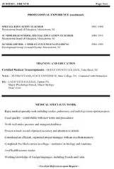 Sample Education Resume Examples   education on resume examples