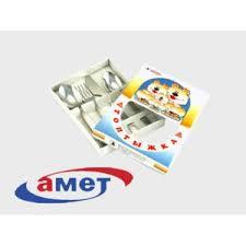 <b>Столовые приборы Амет</b> 4-х предметный детский <b>набор</b> ...