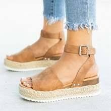 Online Shop YEARCON <b>2019 New Women's Sandals</b> Summer ...