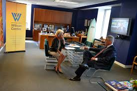 u s department of defense photo essay defense secretary chuck hagel meets jane harman director president and ceo of the