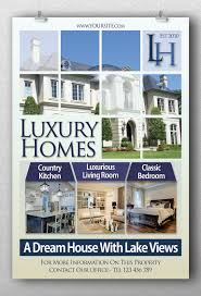 luxury homes real estate flyer template flyerroom luxury homes real estate flyer template