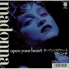 "Madonna, Open Your Heart, Japan, Deleted, 7"" vinyl single (7 - Madonna%2B-%2BOpen%2BYour%2BHeart%2B-%2B7%2522%2BRECORD-5374"