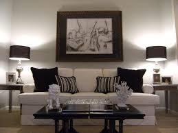 idea black white living room living roommodern black and white living room apartment with photo fra