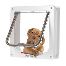 4 Way Locking Pet <b>Door</b> W/ Smart switches keep the house <b>door</b> ...