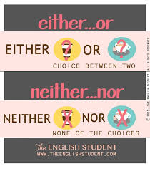 ideas about learn english on pinterest  esl idioms and  the english student how to use either and neither eitheror neither