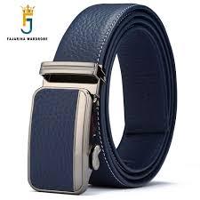 <b>FAJARINA</b> Men's <b>Top Quality</b> Pure Cowhide Belts Fashion <b>100</b> ...