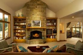 design ideas interior ideas breathtaking stacked stones exposed walls panels fireplace ideas and built in cabinets as well as charming sofas in attic bedroom home amazing attic ideas charming