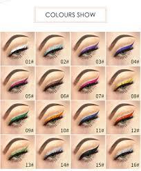 NOVO 6 цветов жидкая подводка для <b>глаз карандаш для макияжа</b> ...