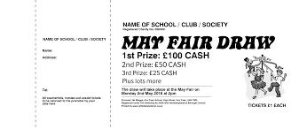 raffle tickets raffle ticket printers uk draw tickets spring day