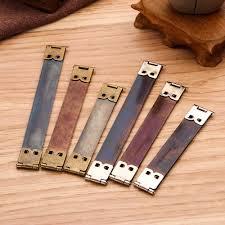 <b>10pcs</b> Monk Head Screws Leather Craft Belt Wallet Solid Brass Nail ...