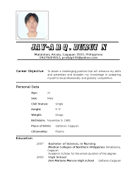 career objective for nursing resume nurse professional goal resume nurse