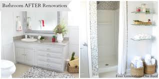 bathroom refresh: bathroom refresh with better homes and garden