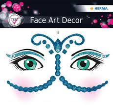 Herma <b>Наклейки для лица</b> Gecko Геккон, серия Face Art, цвет ...