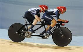 Image result for tandem cycling