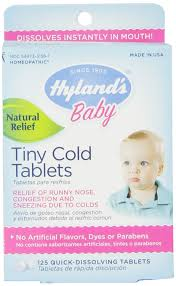 Hylands <b>Baby Tiny Cold</b> Quick Dissolving Tablets - 125 ct