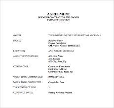 Sample Contract Agreement -13+ Free Documents Download in PDF, Word