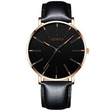 2020 MINIMALIST <b>MEN'S FASHION</b> ULTRA THIN <b>WATCHES</b> ...