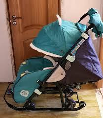 Обзор от покупателя на <b>Санки</b>-<b>коляска Ника детям</b> 7-2 (Коллаж ...