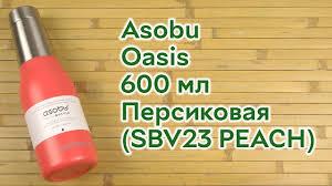 ROZETKA | <b>Термобутылка</b> Asobu Oasis 600 мл Персиковая ...