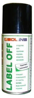 Спрей-<b>очиститель Solins Label</b>-off для удаления наклеек, 150 мл ...
