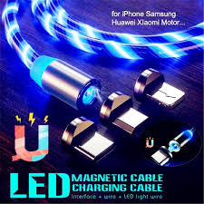 <b>New Upgrade</b> LED <b>Magnetic</b> Cable Streamer Data Flowing LED ...