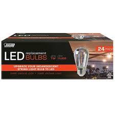 Feit Electric LED <b>Replacement</b> String <b>Light Bulbs</b>, 24-pack