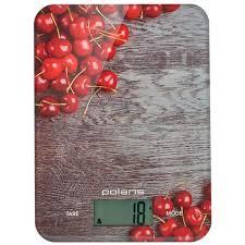 Купить <b>Весы кухонные Polaris PKS</b> 1046DG Cherry в каталоге ...