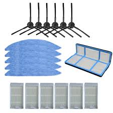 <b>Side Brush Primary Dust</b> Filter Hepa Mop Replacement Parts For ...