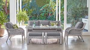 Buy Fraser <b>6</b>-<b>Piece Outdoor Lounge</b>/Dining Setting | Harvey Norman ...