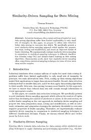 resume examples examples of thesis proposal for computer resume examples similarity driven sampling for data mining springer examples of thesis proposal for computer engineering