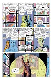 what no one talks about when they talk about the watchmen ending a short while later we hear horrific tales of the impact the creature had