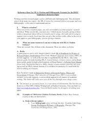 Research Paper Proposal MLA Format