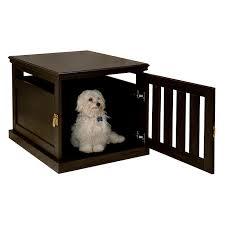 espresso furniture style dog crate furniture style dog crates