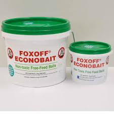 FOXOFF® 1080 <b>Fox</b> Baits — animal control technologies