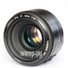 <b>Объектив YongNuo</b> Canon <b>AF 50 mm</b> F/1.8