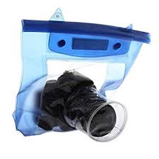 TUZECH Fully Waterproof Pouch for DSLRs <b>Waterproof DSLR SLR</b> ...